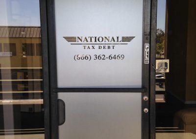 National Tax Debt