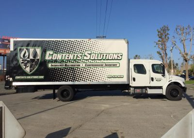 contents solutions box truck
