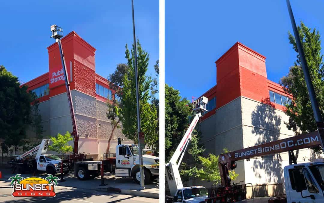 Building Sign Installation, Removal & Repair