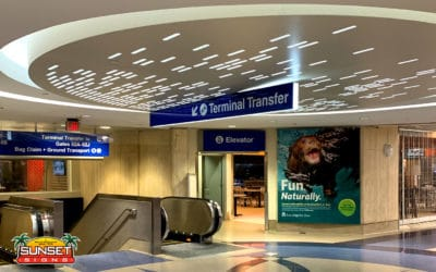 Architectural Sign Design – Case Study LAX Airport Wayfinding Signs