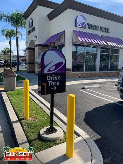 Business Pole Sign Designs