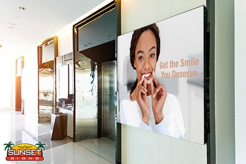 Business Video Display Signs