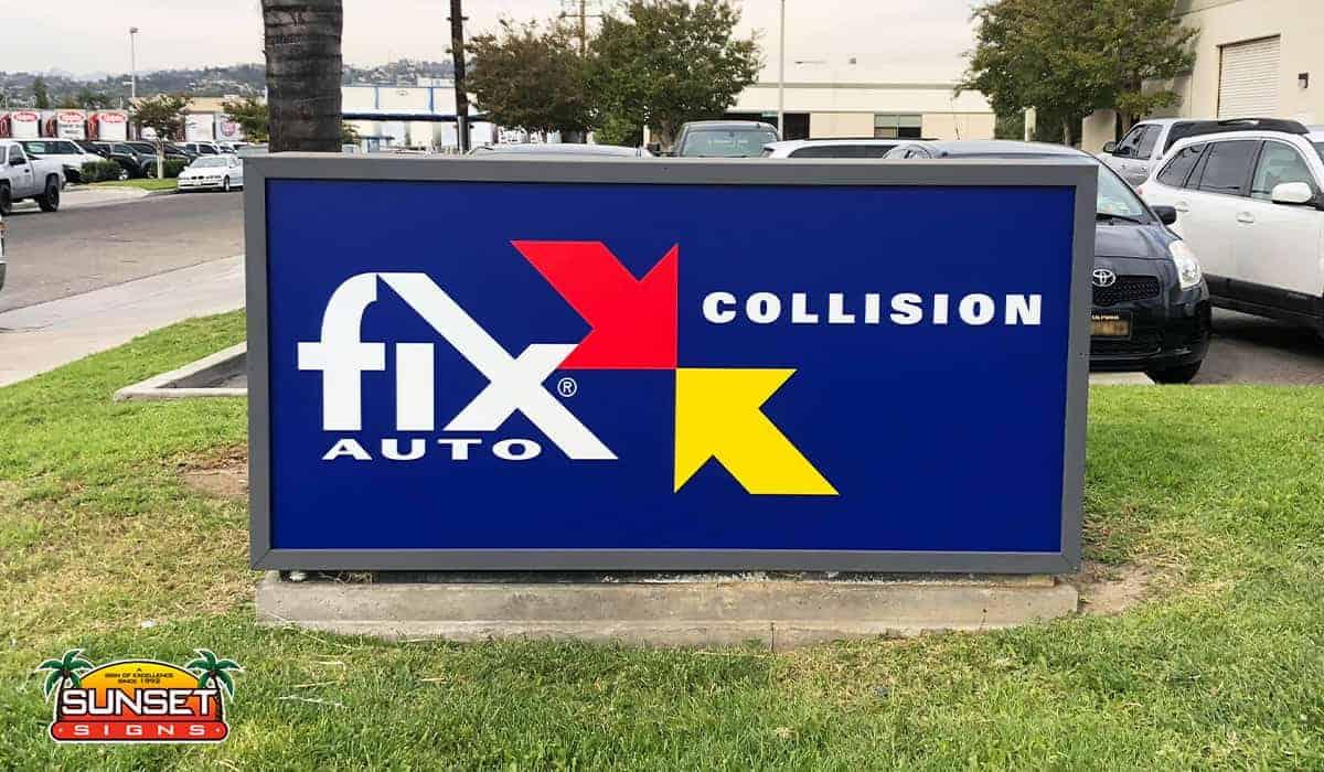 Custom Business Sign Manufacturers
