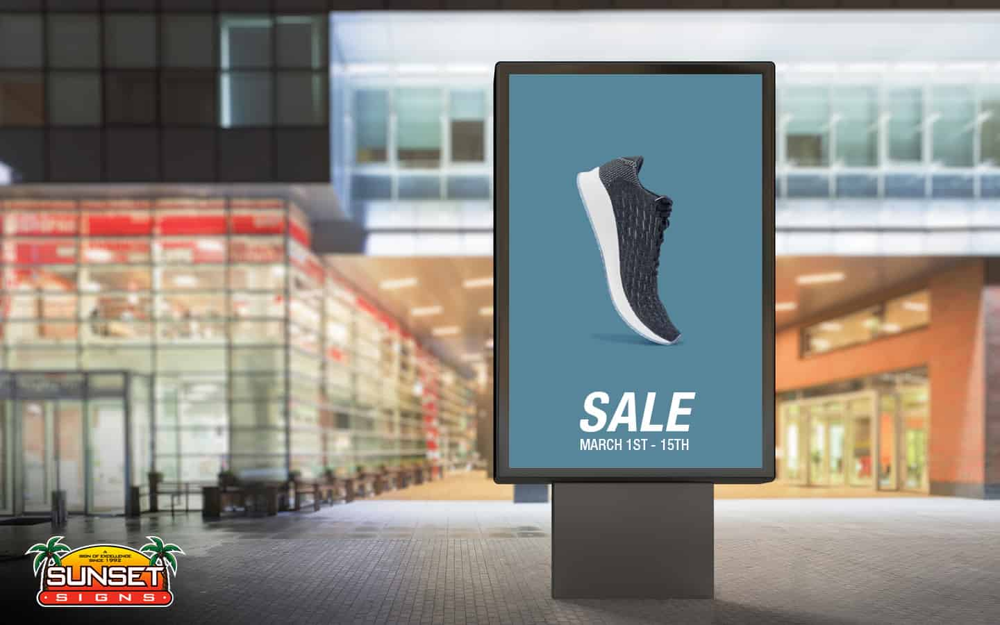 Exterior Digital Advertising Signs
