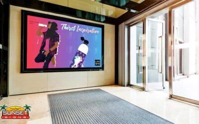 Interior Digital Display Signs