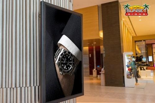 Interior Digital Video Display