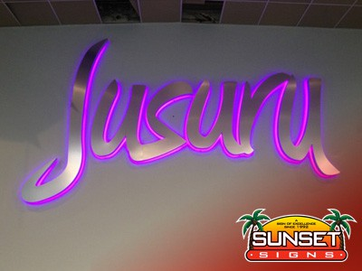 Jusuru Neon Indoor Sign