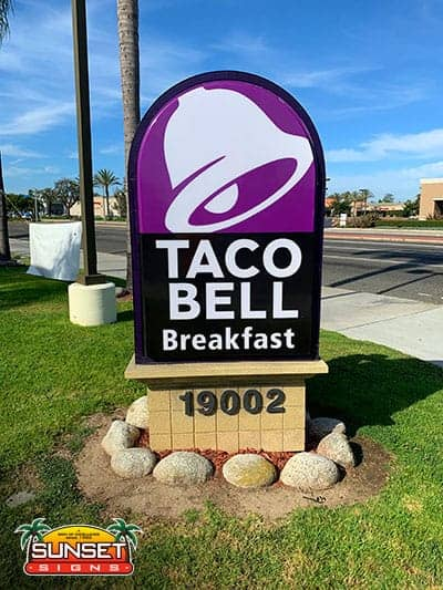 Monument Business Sign Designs