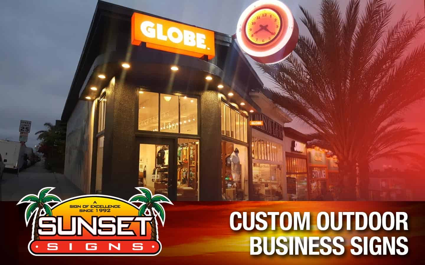 Custom Outdoor Business Signs