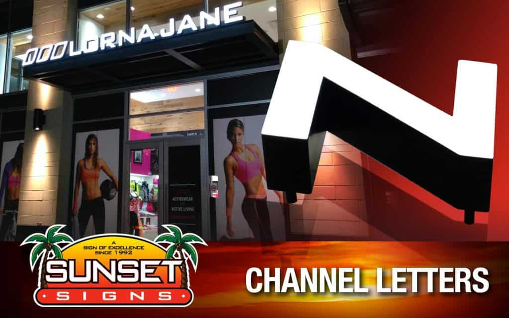 Channel Letters Signage • Illuminated Business Signs for